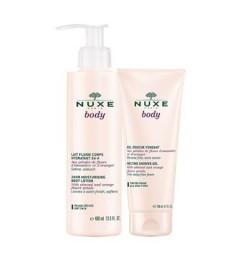 Nuxe Body Lait Fluide Corps Hydratant 24H 400ml + Gel Douche 200Ml