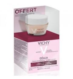 Vichy Coffret Idealia Peaux Sèches 50ml et Masque Peeling 15Ml Offert