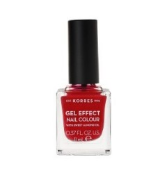 Korres Vernis à Ongles Amande Douce 51 Rosy Red 11Ml