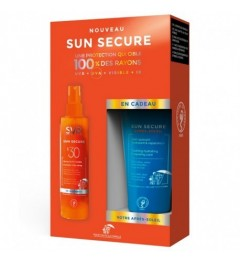 Svr Sun Secure Coffret Spray SPF30 200Ml et Après Soleil 50Ml Offert