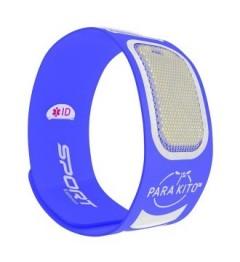 Parakito Bracelet Anti-Moustique Sport Bleu