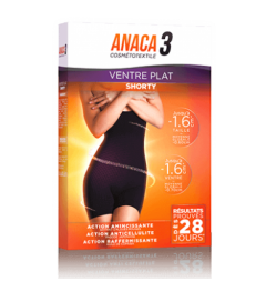 Anaca 3 Shorty Ventre Plat Taille L/XL
