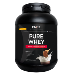 EA FIT Pure Whey Protein Double Chocolat 750 Grammes