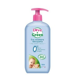 Love And Green Eau nettoyante bio 500Ml
