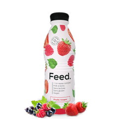 Feed Ready To Drink Fruits Rouges 1 Repas Complet