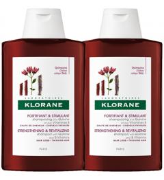 Klorane Shampoing Fortifiant à la Quinine 2x400ml