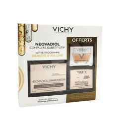 Vichy Neovadiol Peaux Normales à Mixtes 50Ml, Neovadiol Nuit 15Ml et Masque Peeling 15Ml Offert