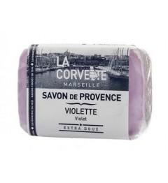La Corvette Savon de Provence Violette 100 Grammes
