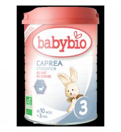 Babybio Caprea Lait de Chèvre 3 dès 10 Mois 900 Grammes