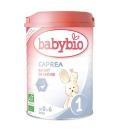 Babybio Caprea Lait de Chèvre 1er Age 0-6 Mois 900 Grammes