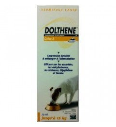 Dolthene Vermifuge Chiens de 0 à 13Kg 20Ml pas cher