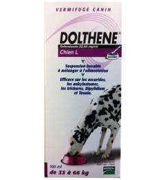 Dolthene Vermifuge Chiens de 33 à 66Kg 100Ml pas cher