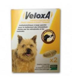 Veloxa Vermifuge Chien 2 Comprimés pas cher