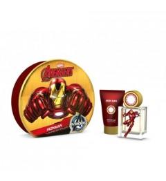 Iron Man Boite Métal Eau de Toilette 50Ml et Gel Douche 75Ml