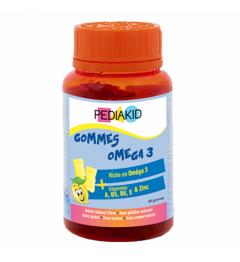 Pediakid Gommes Omega 3 60 Gommes