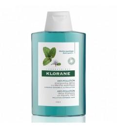 Klorane Capillaire Shampooing Détox à la Menthe Aquatique 200Ml