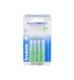 Inava Brossettes Mono Compact Vert 4 Brossettes