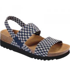Scholl Kaory Sandal Bleu Gris Pointure 38