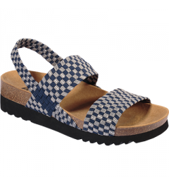 Scholl Kaory Sandal Bleu Gris Pointure 37