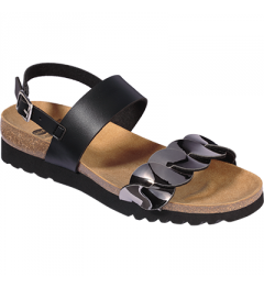 Scholl Jada Sandal Noir Etain Pointure 38