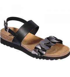 Scholl Jada Sandal Noir Etain Pointure 37