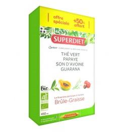 Superdiet Solution Buvable Quatuor Brule Graisse 30 Ampoules