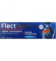Flect Expert Crème Chauffante 60 grammes