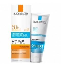 La Roche Posay Anthelios XL SPF 50 Crème Confort Ultra Avec Parfum 50ml et Posthelios 40Ml