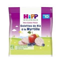 Hipp Galettes de Riz à la Myrtille 30 Grammes