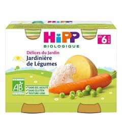 Hipp Jardinières de Légumes 2x190 Grammes