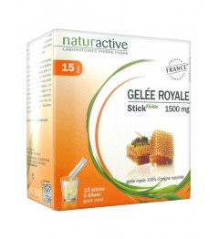 Naturactive Gelée Royale 15 Sticks de 10Ml