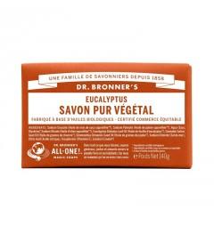 Dr Bronner's Pain de Savon Eucalyptus 140G