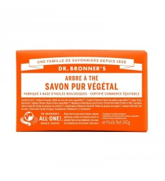 Dr Bronner's Pain de Savon Arbre à Thé 140G