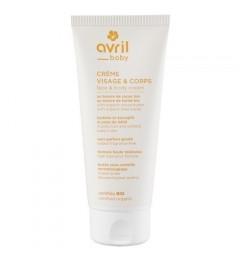 Avril Crème visage et corps bébé 100 ml Certifiée bio