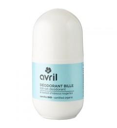 Avril Déodorant bille 50 ml Certifié bio