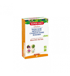 Superdiet Solution Buvable Quatuor Digestion 20 Ampoules