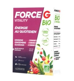 Force G Vitality Bio 20 Ampoules