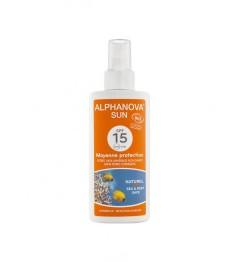 Alphanova Sun Bio SPF15 Spray 125 Grammes