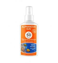 Alphanova Sun Bio SPF50 Spray 125 Grammes