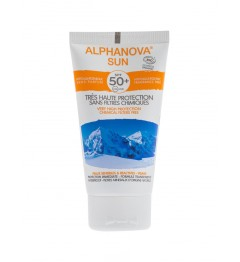 Alphanova Sun Bio SPF50 Sans Parfum 50 Grammes