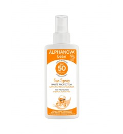 Alphanova Sun Bio Bébé SPF50 Spray 125 Grammes