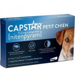More about Capstar 11.4Mg Petits Chiens 6 Comprimés anti puces