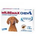 Milbemax Chew Chien de plus de 5Kg 2 Comprimés