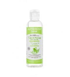 Alphanova Bébé Huile de Massage Bio 100% Naturelle 100 ml