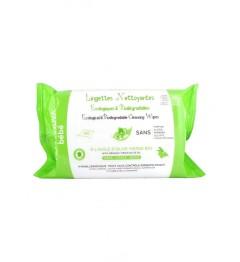 Alphanova Lingettes à l'Huile d'Olive et Aloe 60 Lingettes