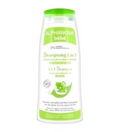 Alphanova Shampooing 2 en 1 Bio 200Ml