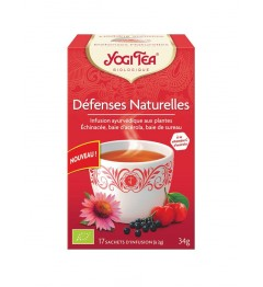 Yogi Tea Tisane Défenses Naturelles 17 Sachets
