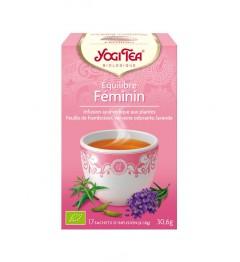 Yogi Tea Tisane Équilibre Féminin 17 Sachets