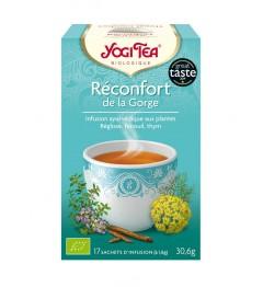 Yogi Tea Tisane Réconfort de la Gorge 17 Sachets