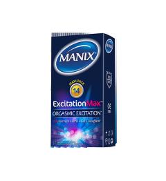 Manix Préservatif Excitation Max Boite de 14